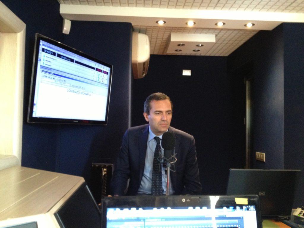 Il Sindaco Di Napoli Luigi De Magistris Ospite di Gianni Simioli nel programma