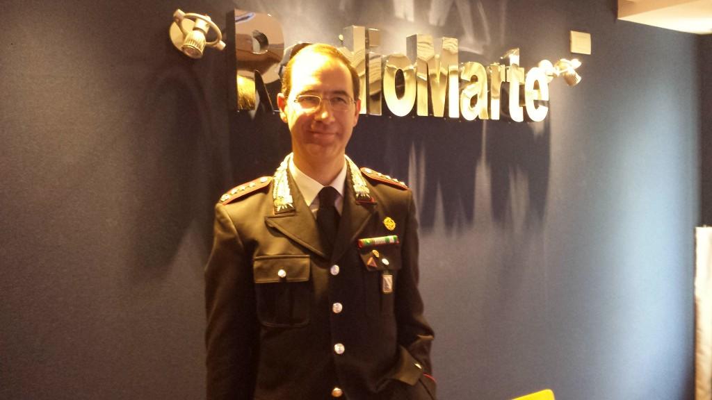 Il Colonnello Com. Pro. Carabinieri Napoli Ospite alla