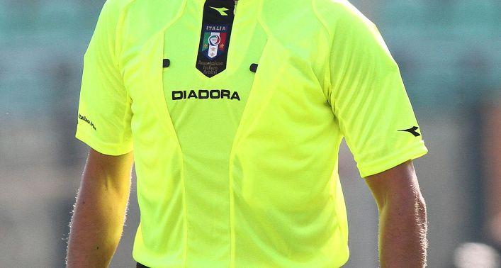 Sassuolo-Napoli: arbitra Antonio Damato di Barletta