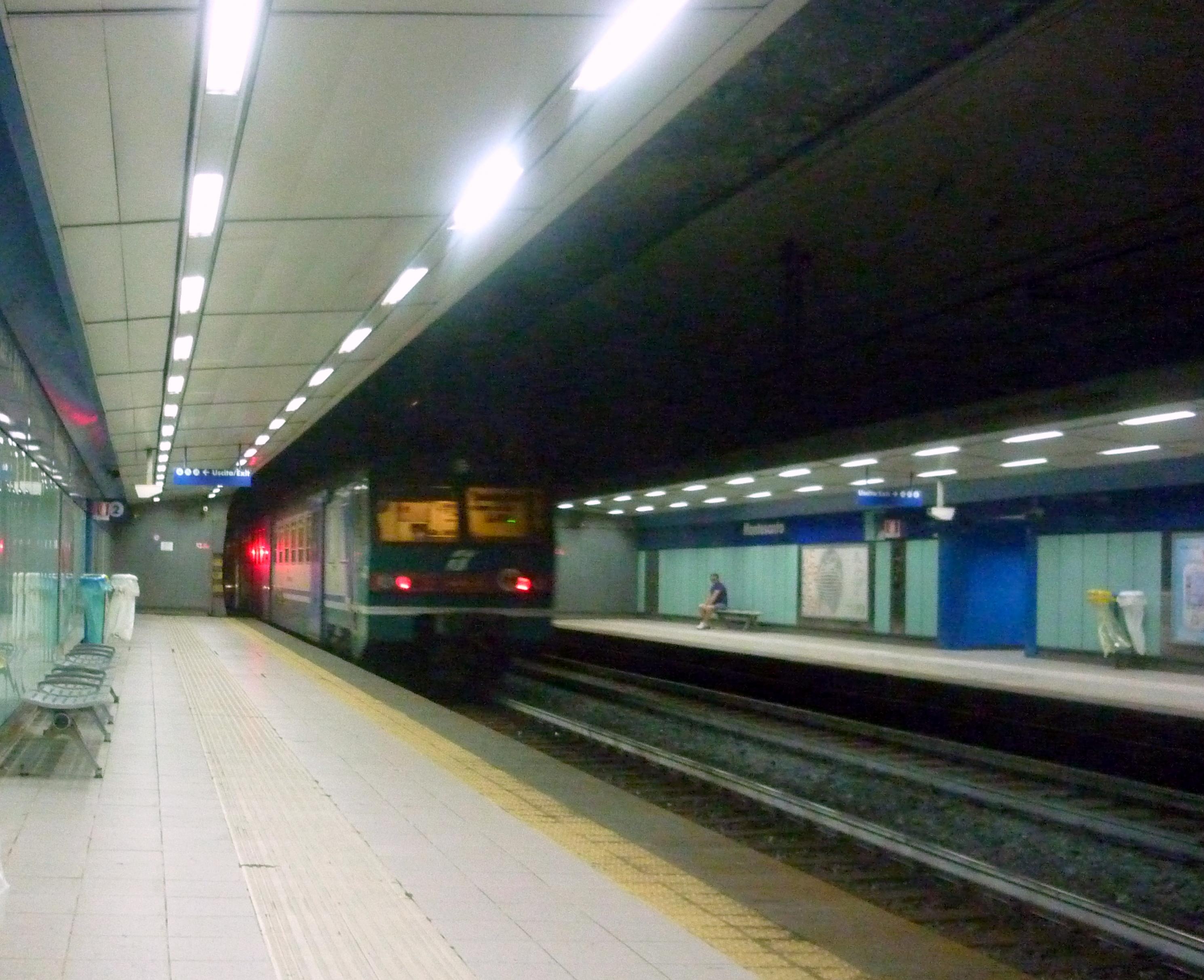 roma metropolitana linea blu salerno - photo#30
