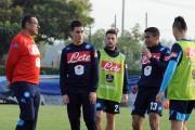 Napoli, allenamento a Castel Volturno: domani rifinitura e ritiro pre Atalanta