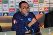 """Sarri: """"Abbiamo dominato, i due gol arrivati in 5′ di sbandamento. Mercato? Serve un difensore centrale"""""""
