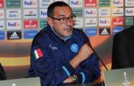 """Sarri: """"Siamo riusciti a reagire dopo il 2-2. Milik era impaurito, vedremo dopo gli esami"""""""