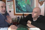 """Luciano De Crescenzo Ospite alla """"Radiazza"""" di Gianni Simioli"""