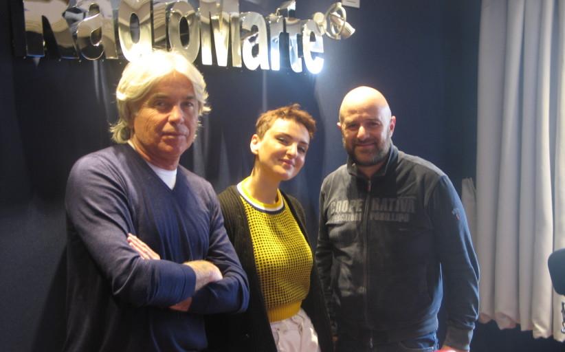 """Arisa ospite di Gigio Rosa e Ivan Zazzaroni in """"Zazza su Marte"""""""