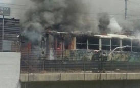 Circumvesuviana: Treno Incendiato A Marigliano