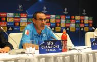 """Sarri: """"Meritavamo la Champions League. Il mercato non è collegato a questa partita"""""""