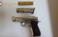Napoli: Lancia Pistola Dalla Vettura, Pregiudicato Arrestato