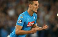 Napoli-Frosinone 4-0: Zielinski, Ounas e Milik (2) lanciano gli azzurri. Debutti per Meret, Ghoulam e Younes