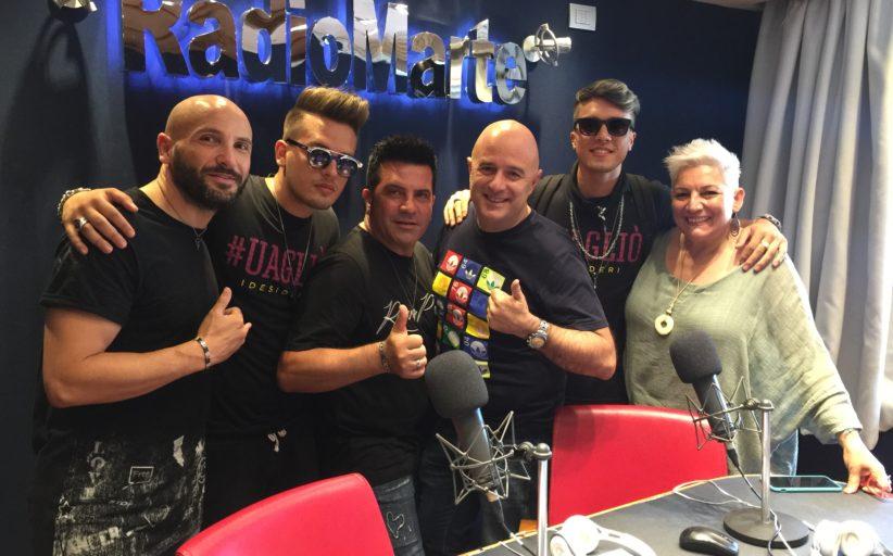 """I Desideri"" ospiti nel programma ""I Marzianissimi"" con Gigio Rosa e Rosanna Iannacone"