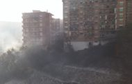 Napoli: Incendio Sotto Le Rampe Della Tangenziale