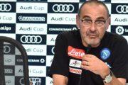 """Sarri: """"Abbiamo fatto un regalo al nostro popolo, ma noi adesso pensiamo alla Fiorentina"""""""