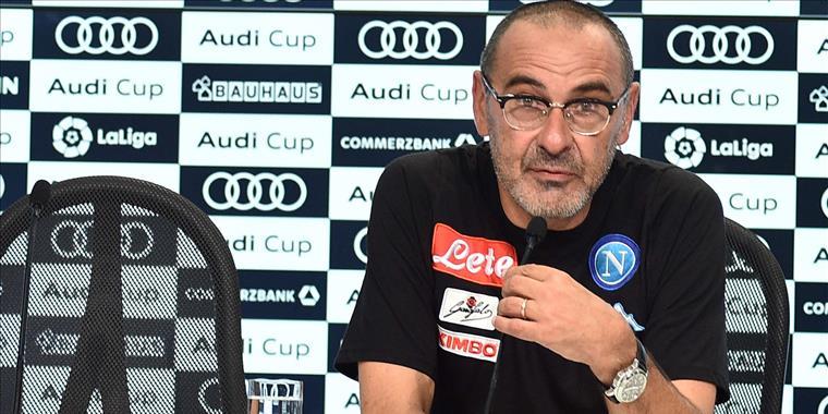 """Sarri: """"Non dobbiamo pensare alla Juventus, ma solo a noi stessi. Il mio futuro? Se ho la sensazione di poter dare qualcosa, rimango volentieri"""""""