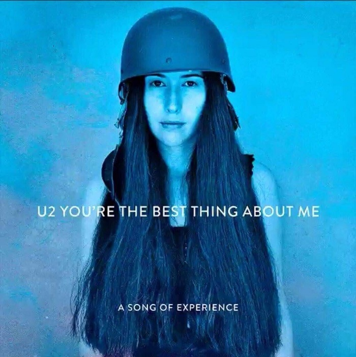 "U2  ""You're The Best Thing About Me"""
