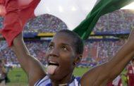 """Fiona May: """"Tifo Derby County, ma il Napoli meriterebbe lo scudetto per il gioco che esprime"""""""
