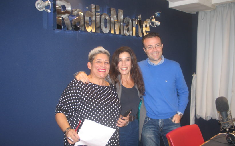 Paola Turci ospite a Radio Marte