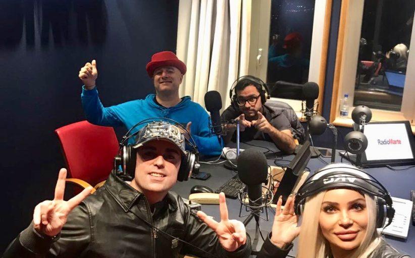 """Beata Beaz e Ivan Granatino ospiti in """"Arrivano I Mostri"""" con Gigio Rosa e Francesco Mastandrea per presentare """"I STILL WANT YOU"""""""