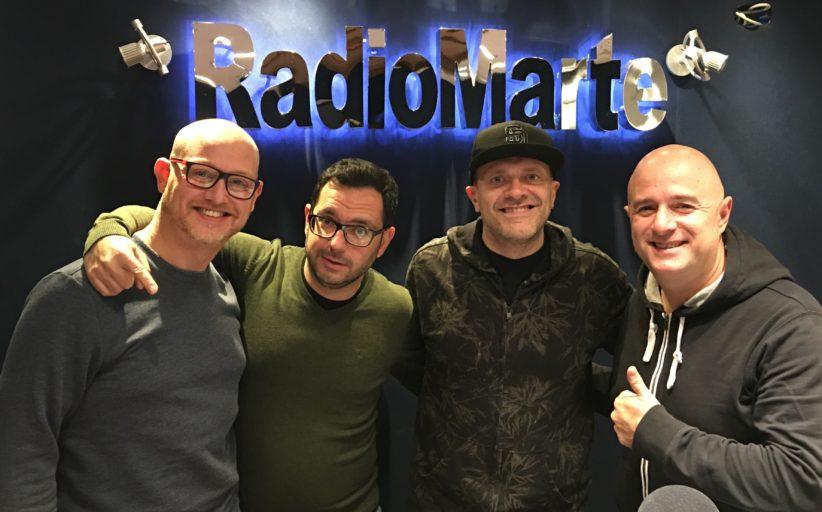 """Max Pezzali ospite in """"Marte Sport Live"""" con Sarnataro/D'Alessandro e in """"Arrivano i Mostri"""" con Gigio Rosa, Francesco Mastandrea e Marco Critelli"""