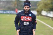 Napoli, ripresi gli allenamenti a Castel Volturno: Insigne in gruppo. Fabian ha saltato solo la partitella finale