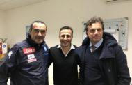 Napoli, Fabio Cannavaro a Castel Volturno: ha incontrato Maurizio Sarri e Cristiano Giuntoli