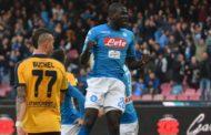 """Koulibaly: """"Felice per il mio gol. Siamo riusciti a battere la Juve. Ora crediamoci fino alla fine"""""""