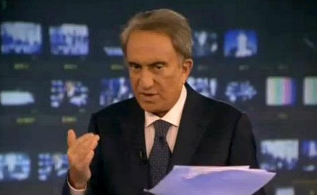 Emilio Fede e Franco Zuccalà: