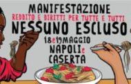 """Napoli: Manifestazione Di Migranti """"Reddito E Diritti Per Tutti"""""""