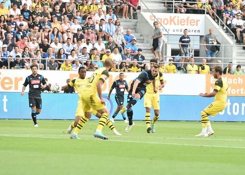 Borussia Dortmund-Napoli 1-3: bene gli azzurri. Si sblocca Milik, Callejon chiude i conti