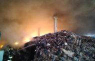 Marcianise: A Fuoco Impianto Smaltimento Rifiuti